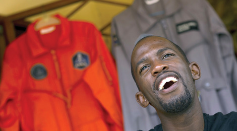 Man Poised to be First Black African in Space