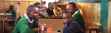 Kenyan Children Get Computers on a Stick