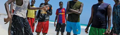 AMISOM Uses 4,500 Footballs to Promote Peace