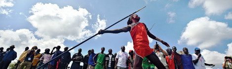Maasai Warriors Go for the Gold