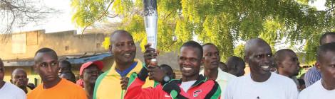 Kenyan Athletes Walk for Peace