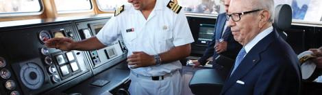 TUNISIA Marks New Era with Locally Built Vessel