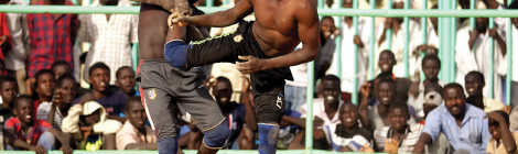 Sudanese Wrestlers Train for the Olympics