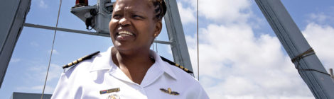 South African Navy Commander Makes History
