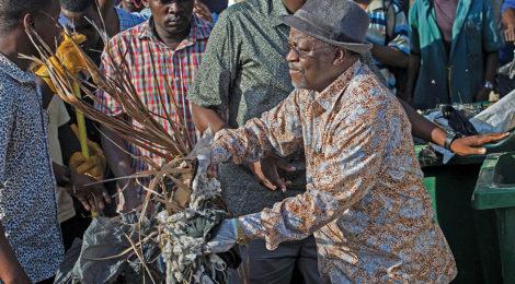Tanzanian President  'Bulldozes' Waste, Corruption