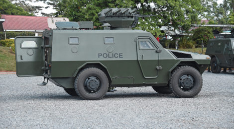 Kenya Strengthens Anti-Terror Fight with Armored Vehicles