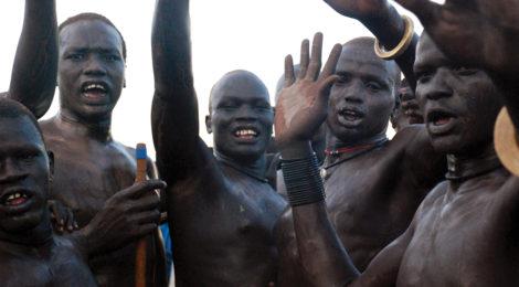Rival Tribes Choose Wrestling Over War