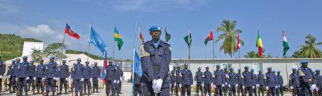 Rwandan Police Lend Helping Hand in Haiti