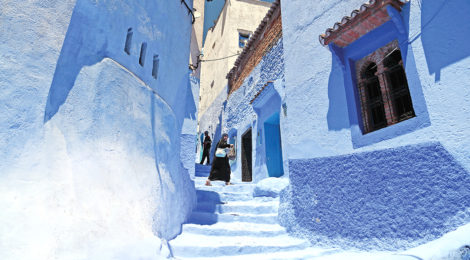 Morocco's Peaceful 'Blue Pearl'