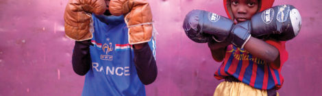 Spirit of 'Rumble' Lives on in Congolese Boxing School