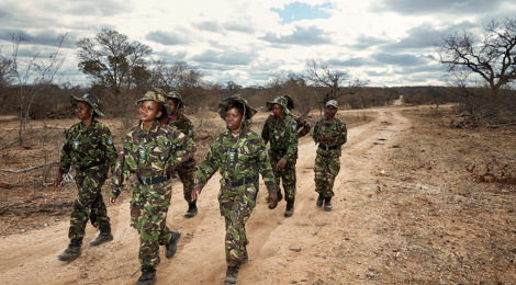 All-Female Anti-Poaching Team Patrols Game Reserve