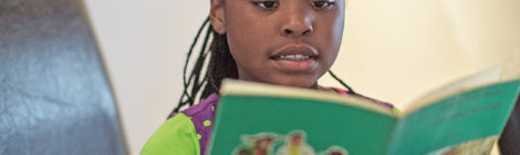 South Africa's Child Book Star  Brings Hope to Children