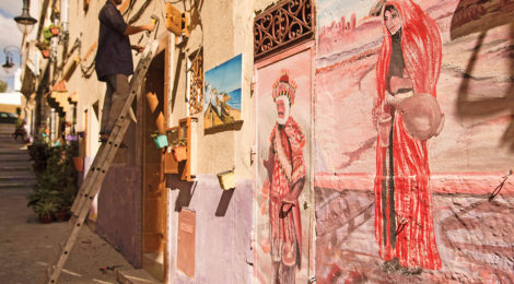 Residents Bring Colorful New Life to Old Tangiers