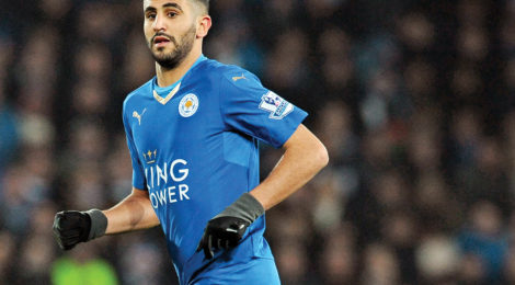 Algeria's Mahrez Named Footballer of the Year