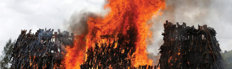 Kenya Burns Illegal Weapons