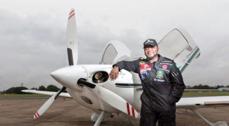 Nigerian Makes History with Solo Flight Around the World