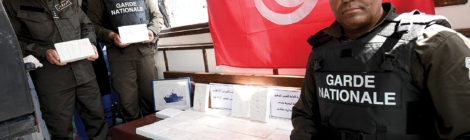 tunisian coast guard seizes HUGE cocaine shipment