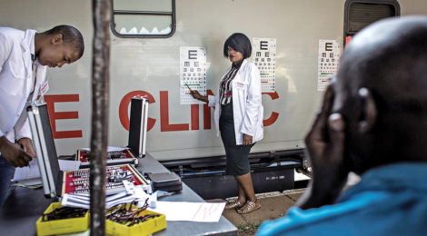 Train Brings Health Care to South Africa's Poor