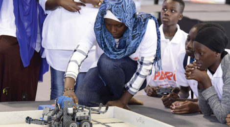West African Girls Shine in Senegal Tech Battle