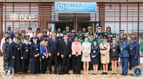 التدريب يعزز مهارات المرأة العاملة في مجال حفظ السلام